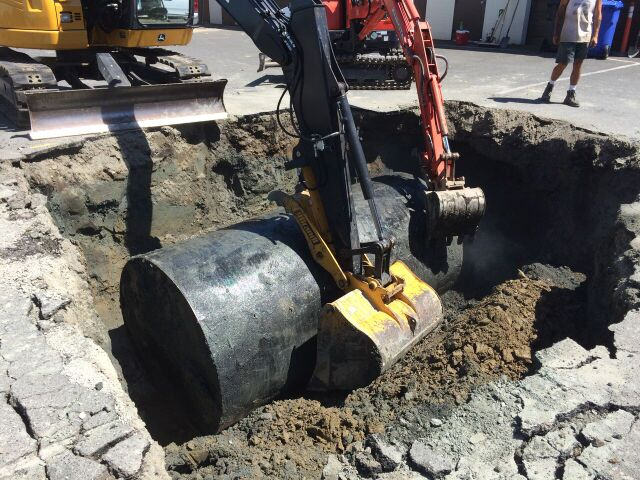 Oil Tank Removal & Site Remediation