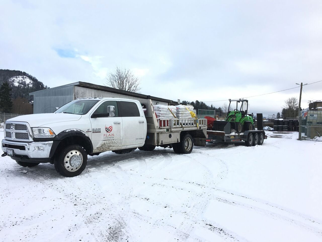 Vancouver Island Snow Removal & De-Icing