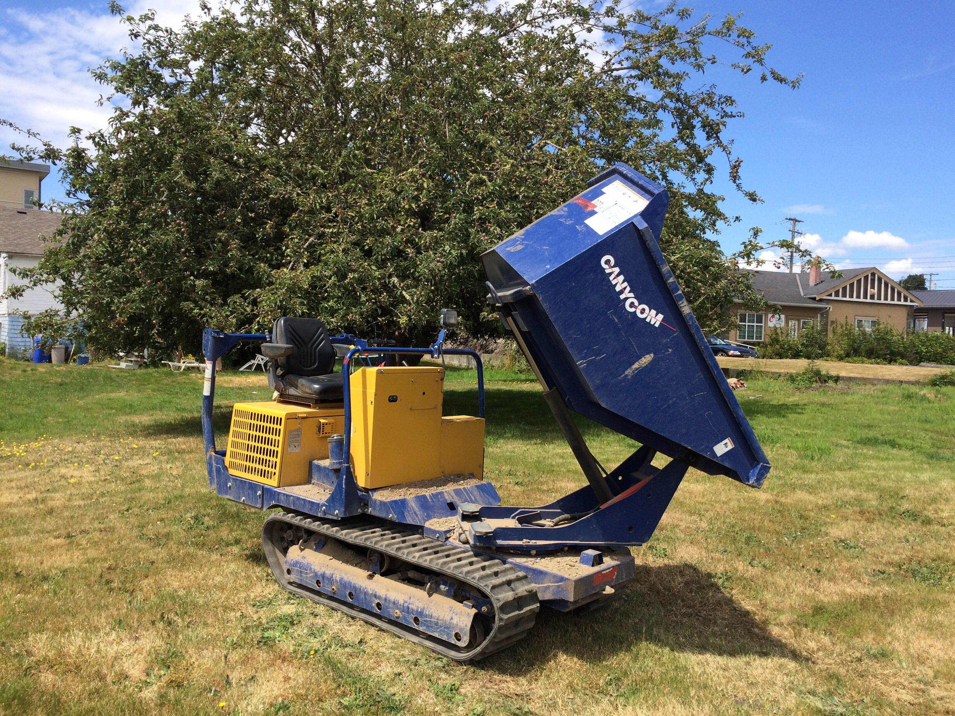 Canycom S160 Tracked Dumper