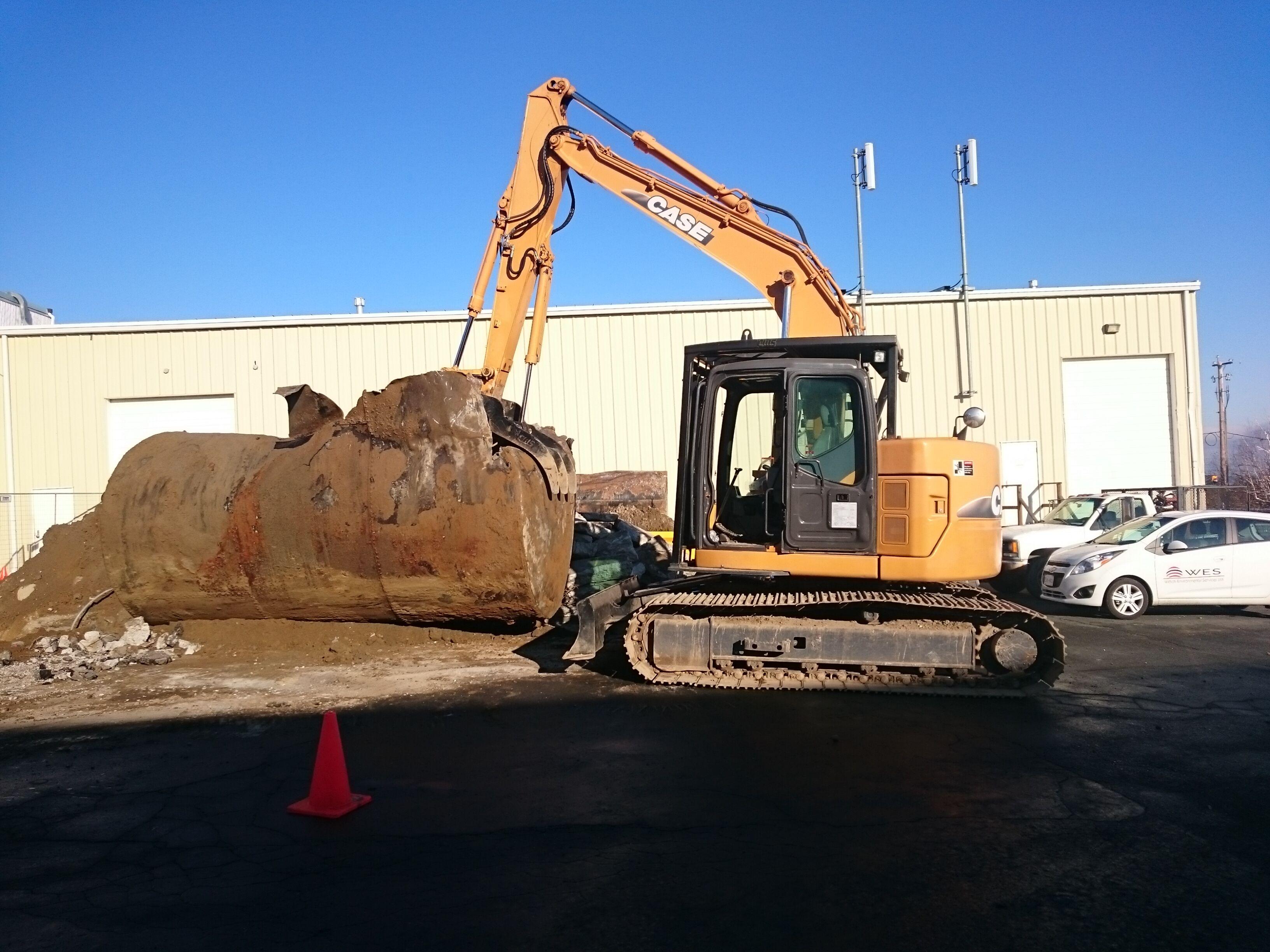 Case CX135sr Excavator