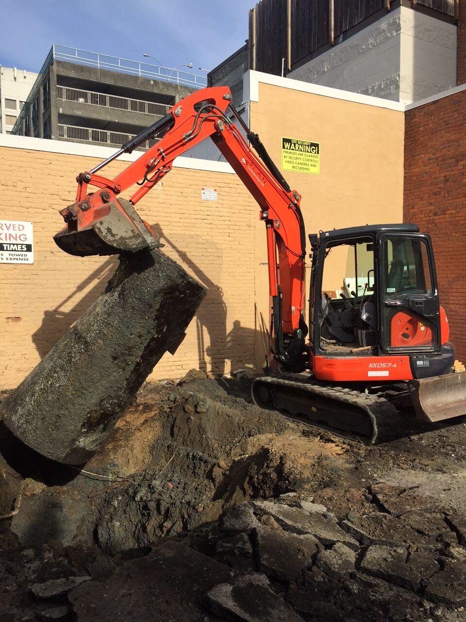 Kubota KX057 Excavator